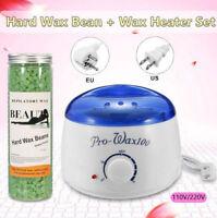 Wax Kit Heater Pot Salon Hair Removal Hot Wax Warmer Pot Depilatory Wax Bean