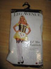 EUC women's LEG AVENUE brand LITTLE MISS GOLDILOCKS costume - size PET / SMALL