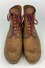 Red Wing Heritage Boot 9111 Copper Rough & Tough Brown Leather Men US Size 12