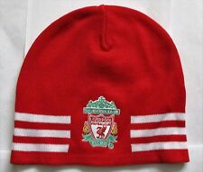 LIVERPOOL RED 3S KNITTED BEANIE HAT BY ADIDAS ADULT ONE SIZE FITS ALL BRAND NEW
