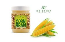 Super Effective 100% Natural Face Scrub Corn Bran Peeling - Soft Clean Firm Skin