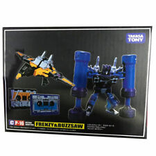 MP-16 Frenzy & Buzzsaw Cassette Transformers Masterpiece Action Figures KO Toy