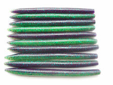 "50 - 5"" Senko Style Plastic Bass Fishing Worms - Bait Tackle - Lures - 5S1155"