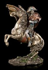 NAPOLEON BONAPARTE Figura con caballo - Grande - VERONESE Estatua Feldherr
