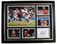 Billy Sharp Signed Autograph 16x12 framed photo display Sheffield Utd AFTAL COA