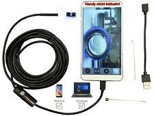 6 Mini 4,3 mm visuelle 1MP Kamera IP67 Home Ear Löffel Endoskop w