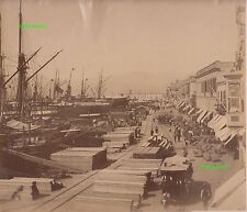 Albumin Foto - Smyrna Izmir Türkei Turkey - vintage photo - 1880 / 1890 !