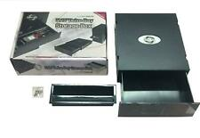 EverCool PC 5.25 inc Drive Bay DVD CD Storage Drawer Tray Kit Black