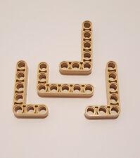 10 Stück S # Lego 3701 Stein 1x4 Technik Lochbalken alt braun