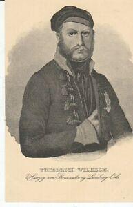 Carte Postale Adel Braunschweig Herzog Friedrich Wilhelm