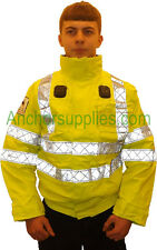 Genuine Ex-Police Hi-vis Bomber Jacket X Large / Reg Length 44'' - 46''  (A366)