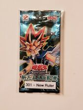 Konami YU-GI-OH Japanese 301 - New Ruler Booster Sealed Pack New
