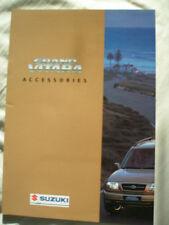 Suzuki Grand Vitara Accessories brochure Mar 1998