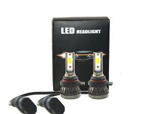 Super Mini 9012 HIR2 LED Headlight Kit Hi/Lo Beam Bulbs 36W 3000LM Fog Light