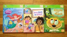 LOT/3 Leap Frog TAG Books Dora The Explorer Under The Sea Ozzie Mack READ SHIP