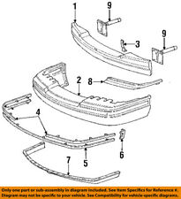 Lincoln FORD OEM 91-94 Town Car Front Bumper-Cover Molding Right 3W1Z17C829AC