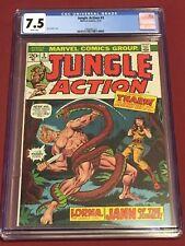 JUNGLE ACTION 3 CGC 7.5 1973 Jim Starlin
