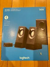 NEW SEALED Logitech Multimedia Speakers Z213 2.1 Stereo Speakers with Subwoofer