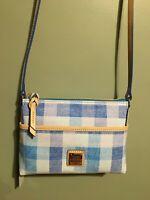 NWT Dooney and Bourke Blue Ginger Crossbody  Handbag Purse Bag Women's fashion