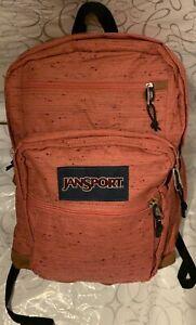 JANSPORT COOL STUDENT BACKPACK ORIGINAL 100% AUTHENTIC LAPTOP TABLET BAG NWT $74