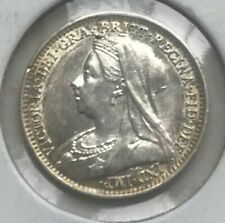 1893 Great Britain 3 Pence - Silver