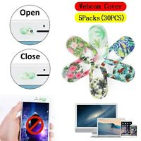 30x Couverture Webcam Cover Privacy Protection pour SmartPhone Laptop Plastic