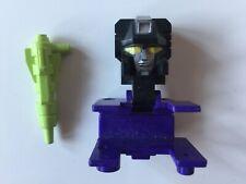 Transformers G1 Parts 1985 DEVASTATOR head + laser takara