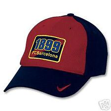 NEUF Vintage Nike Barcelone 1899 Casquette Baseball AVEC ÉTIQUETTE BLEU ROUGE