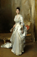 Margaret Stuyvesant Rutherfurd White Oil painting Printed on Canvas L2450