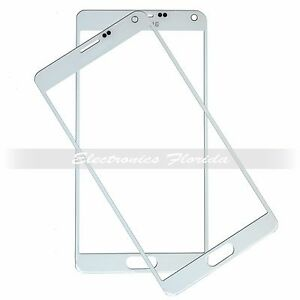 White Screen Glass Lens Replacement for Samsung Galaxy Note 4 b547
