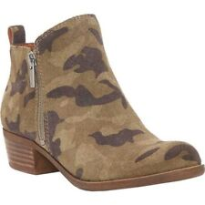 Lucky Brand Camo Bootie Size 6.5 M
