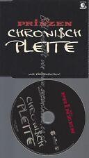 PROMO CD--DIE PRINZEN--CHRONISCH PLEITE--1TR