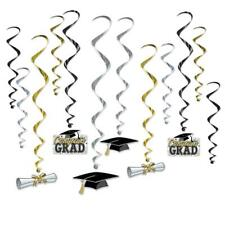 SET 12 GRADUATION WHIRLS DEGREE PARTY CELEBRATION