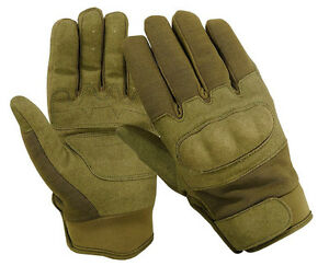 TACTICAL COMBAT ASSAULT HARD KNUCKLE SHOOTING GLOVES MILITARY POLICE AIRSOFT