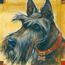 SCOTTISH TERRIER SCOTTIE DOG FINE ART PRINT