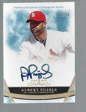 ALBERT PUJOLS  2011 Topps Tier One  cert AUTOGRAPH  on card auto  #16/99