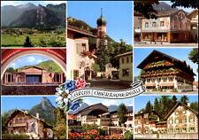 JUMBO-PK Bayern Gruss aus Oberammergau Passionsspieldorf Häuser Motive Mehrbild