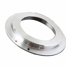 M42 screw Metal Lens to Canon EOS EF Camera mount adapter Ring EF-S