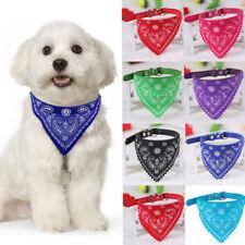 Vouge Ajustable Mascota Perro Cachorro Gato Pañuelo Bufanda de cuello con cuello pañuelo para el cuello Sd