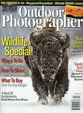 Outdoor Photographer Magazine April 2015 Wildlife Special / Nail Your Exposure
