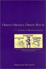 Oratio Obliqua, Oratio Recta: An Essay on Metarepresentation (Representation an