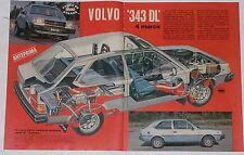 Test Drive Prova 1978 VOLVO 343 DL 4 MARCE