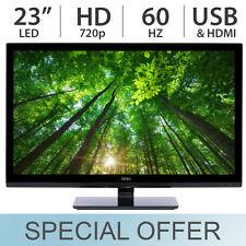 """TAX FREE Seiki 23"""" Inch 720p HD LED LCD 60Hz TV w/ HDMI & USB SE23HEB2 - NEW"""