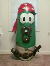 Veggietales Pirates Who Do Anything Elliot Larry The Cucumber Inflatable Nip