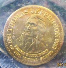 PRESIDENT THOMAS JEFFERSON COMMEMORATIVE COIN