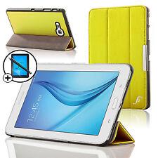 Leather Yellow Folding Smart Case Samsung Galaxy Tab E Lite 7.0 Scrn Prot Stylus