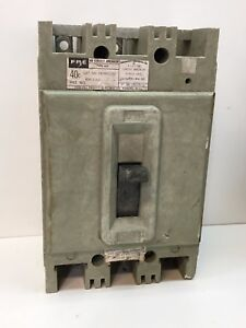 Federal Pacific FPE HEF631100 3-Pole 100-Amp AB Circuit Breaker 100A 600V 3P