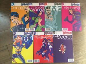 GIRLFRENZY! COMIC LOT 7 ISSUES DC COMICS 1998 NEWSSTAND COPIES BATGIRL