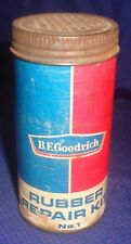 BG665 Vtg B.F. Goodrich Rubber Tire Tube Repair Kit No. 1