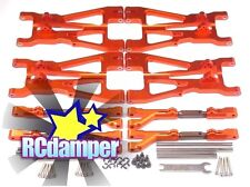 ALUMINUM FRONT REAR UPPER LOWER ARM OR HPI 1/8 SAVAGE 21 25 SS 3.5 4.6 FLUX X XL